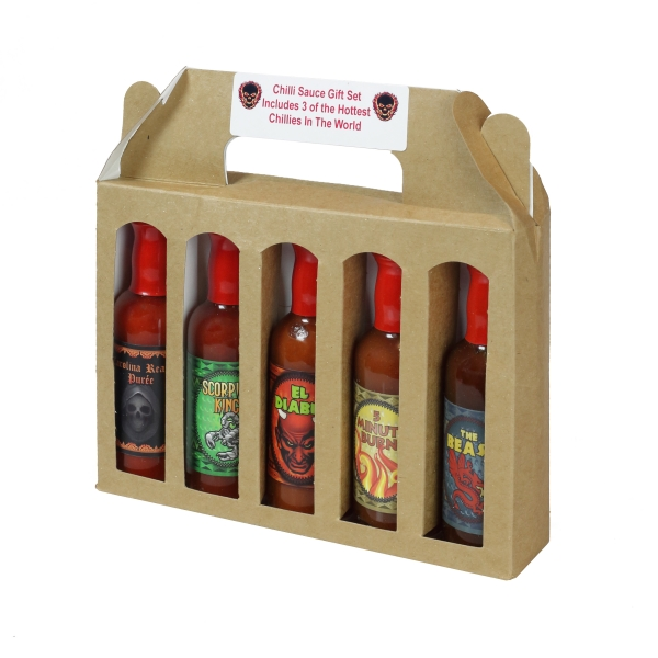 Hot Chilli Sauce Collection 5